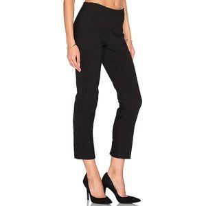 Vince Stitch Front Sean Cropped Pants Black Large